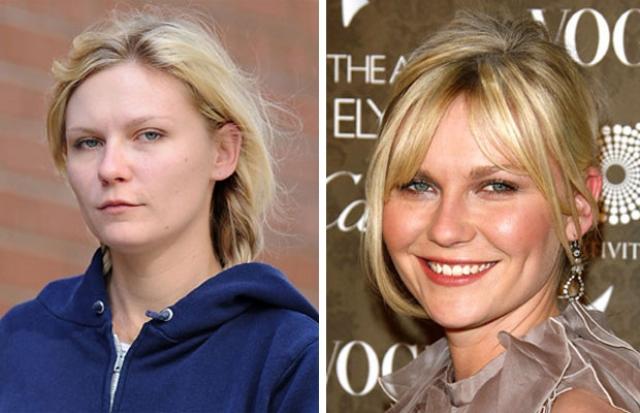 Кирстен Данст. Блондинкам без макияжа явно труднее, чем брюнеткам.
