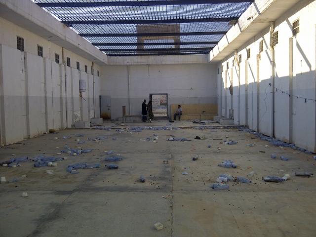 В этой тюрьме содержались в основном преступники, осужденные по политическим статьям.