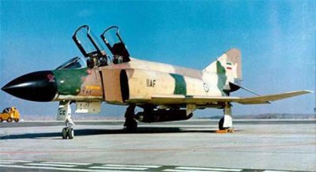 Геннадию Елисееву было посмертно присвоено звание Героя Советского Союза. Экипаж разведывательного самолета – американского полковника и пилота-иранца через 16 дней выдали властям Ирана. На фото: RF-4C Phantom II иранских ВВС