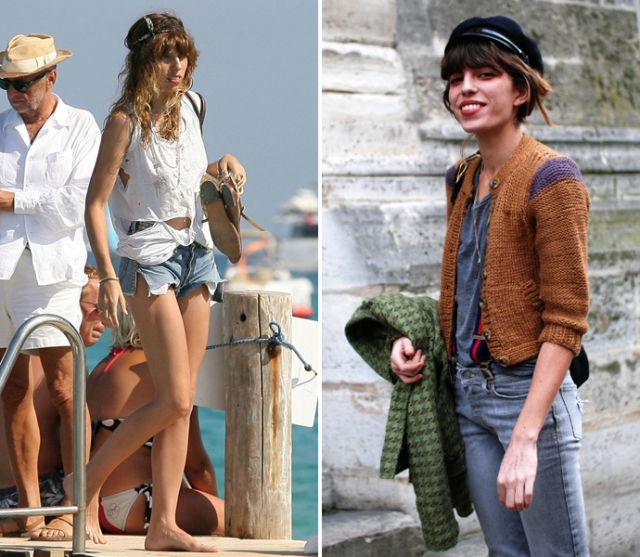 Лу Дуайон. В качестве модели младшая дочь Джейн Биркин дебютировала в каталоге Gap, после чего с ней подписал контракт модный дом Givenchy.