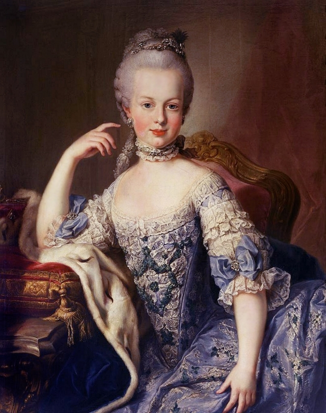 """Мария-Антуанетта, королева Франции : """"Если у народа нет хлеба - пусть ест пирожные."""""""