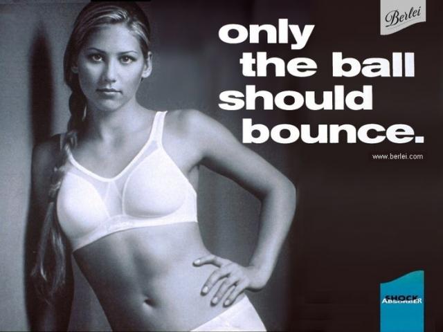 """Знаменитая реклама лифчика со слоганом, что """"Прыгать должны только мячики"""", вызвала бурю негодования в арабских странах, но принесла Ане немалый доход."""