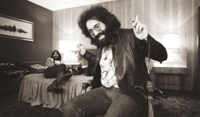 """Джерри Гарсия. Американский музыкант, гитарист, вокалист группы """"Grateful Dead"""", основоположник рока на западном побережье США пристрастился к наркотикам еще на заре своей славы."""