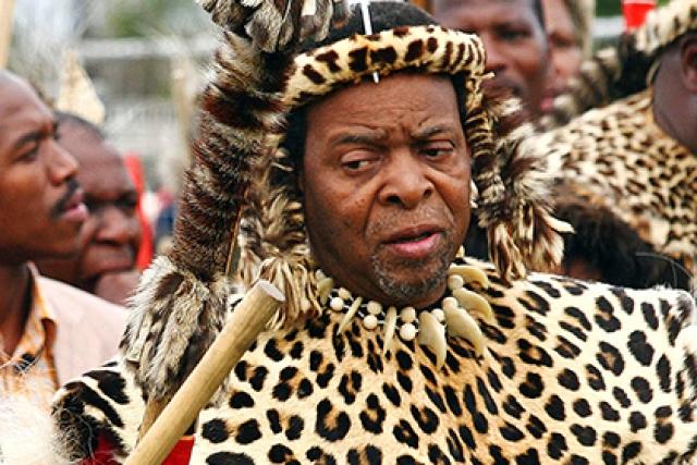 Гудвилл Звелетини. Король зулусов – прямой потомок легендарного Чака Зулу, основателя королевства, чей военный гений иногда сравнивают с Наполеоном.