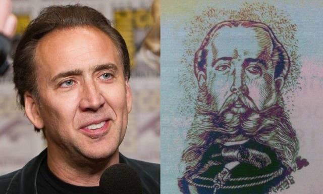 А еще актер как две капли воды похож на мексиканского императора Максимилиана I.