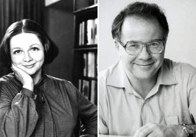 """В 1973 году во время съёмок телевизионного спектакля """"Обрыв"""" Наталья Гундарева познакомилась с Леонидом Хейфецем. Сразу после съёмок они поженились. Но через шесть лет супруги развелись."""