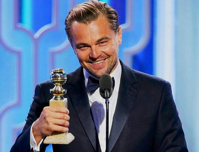 """В """"большом"""" кино он появился в """"черной"""" комедии """"Зубастики"""". В начале 90-х Лео покинул сериал """"Болезни роста"""", чтобы сняться в картине """"Жизнь этого парня"""", которая принесла ему первую громкую славу. В 2016 году он получил свой первый """"Оскар""""."""
