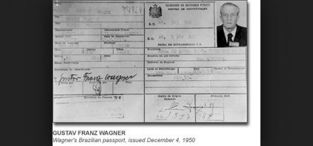 Именно Вагнер нес непосредственную ответственность за убийство в Собиборе 200 тысяч мирных жителей. Нюрнбергский трибунал приговорил Вагнера к смертной казни, но ему удалось бежать и эмигрировать в Латинскую Америку в 1978 году. В Бразилии он жил под чужим именем.