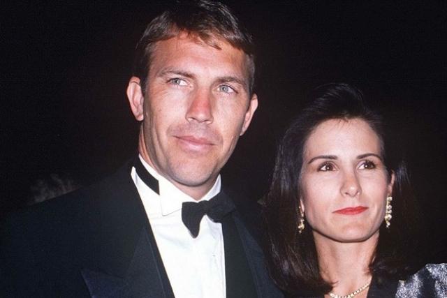 Кевин и Синди Костнер. Актер прожил со своей женой Синди 16 лет, женившись на ней еще во времена учебы в университете.
