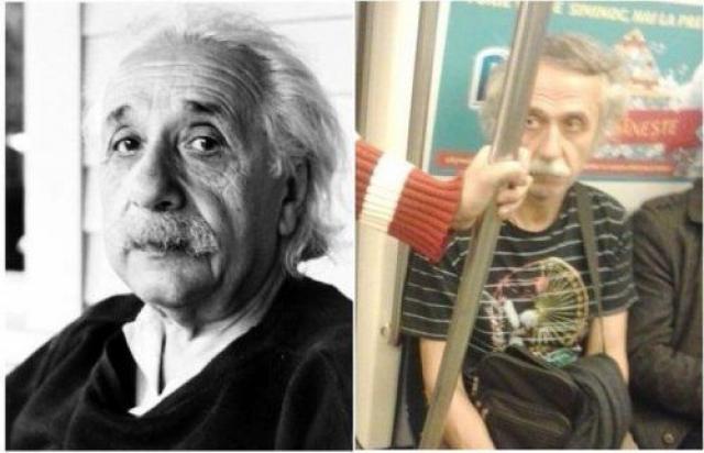 Там же, видимо, ехал и Альберт Эйнштейн .
