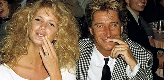 Род Стюарт. Обычно, заключая браки, знаменитости заключают брачный контракт, к сожалению, в свое время певец этого не сделал, чем воспользовалась его супруга Рэйчел Хантер.