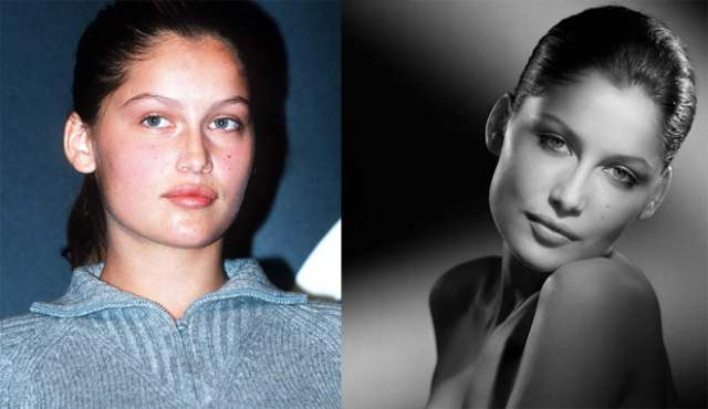 """Летисия Каста Одна из самых утонченных моделей, француженка Летисия Каста в детстве страдала от насмешек одноклассников, считавших ее """"уродиной"""" (по словам самой модели)"""