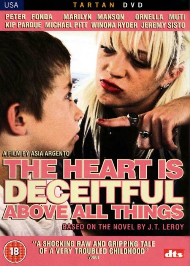 """""""Цыпочки"""" . Оригинальное название фильма The Heart is Deceitful Above all things"""" - фраза из книги пророка Иеремии (""""Лукаво сердце человеческое более всего"""" Иер. 17:9)."""