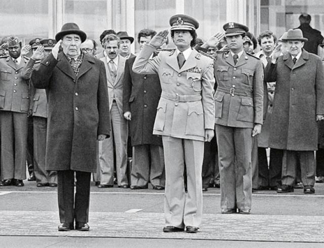 Во время августовского путча в Москве Муаммар Каддафи высказывал поддержку относительно действий ГКЧП.