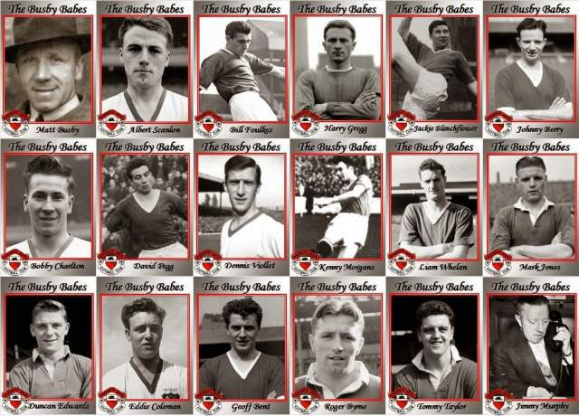 """6 февраля 1958 года, Мюнхен, футболисты """"Манчестер Юнайтед"""". Молодая команда Мэтта Басби, чтобы уложиться в плотный график матчей чемпионата Англии и еврокубка """"МЮ"""", постоянно летала на самолетах, качество изготовления которых в те времена оставляло желать лучшего."""
