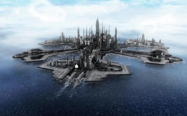 3. Тритон-сити – город-корабль В 1960-е годы американский инженер-изобретатель Бакминстер Фуллер предложил построить город на воде в форме четырехгранника, где могли бы постоянно жить 6 тысяч человек.