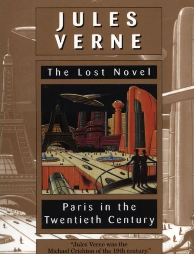 Роман, который в свое время издатели считали слишком неправдоподобным описывает современный мегаполис с небоскребами и широкой сетью банков, с мчащимися на огромных скоростях электропоездами и автомобилями с двигателями внутреннего сгорания.