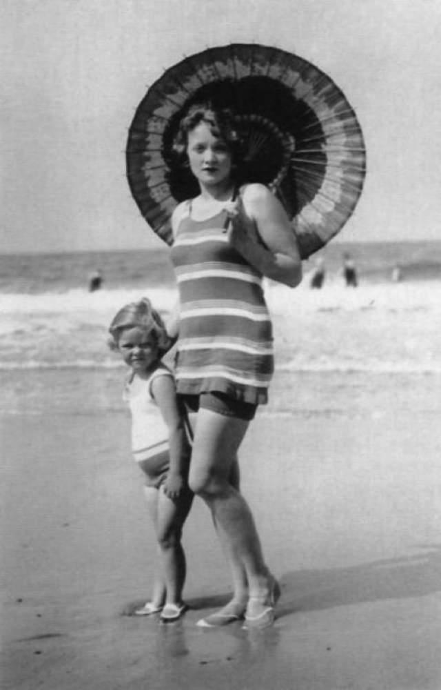 Марлен Дитрих с дочерью