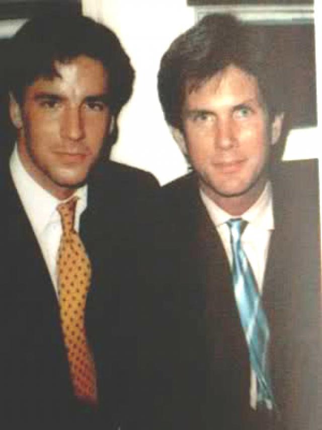Том Форд и Ричард Бакли. Эти двое впервые встретились на модном показе в 1986 году.