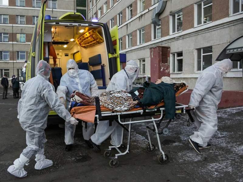 В России зафиксированы рекордные 24318 новых случаев COVID-19 за сутки