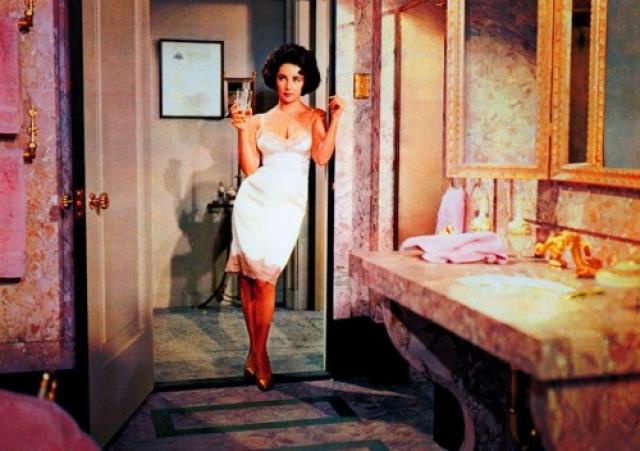 """Элизабет Тейлор, фильм """"Баттерфилд 8"""". Художественный фильм - экранизация одноименного романа Джона О'Хара - стал оскароносным для голливудской актрисы."""