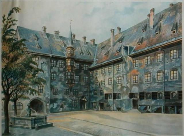 """Гитлер получил отказ из-за своей """"непригодности к живописи""""."""