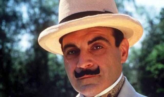 Дэвид Суше. Пожалуй, все знают британского актера именно в образе Эркюля Пуаро с маленькими усиками.