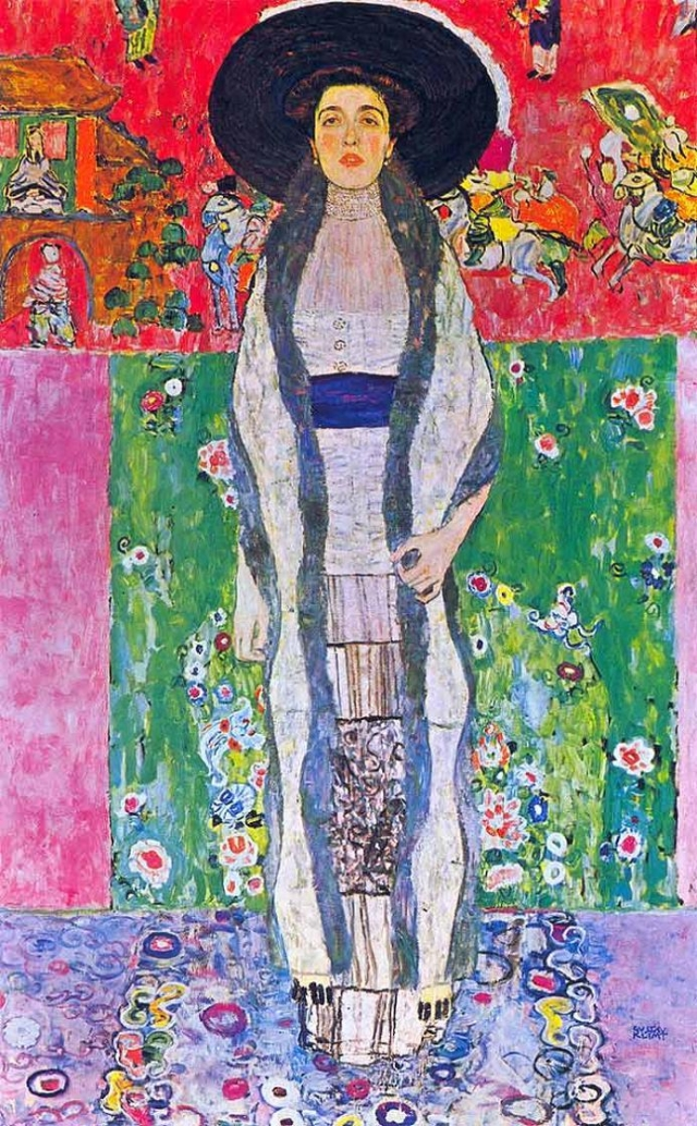 """$87 900 000. """"Портрет Адель Блох-Бауэр II"""" , Густав Климт, 1912 год."""