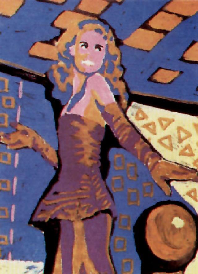 В 1988 году на прошедшей в Нью-Йорке выставке ленинградских современных художников 10 картин принадлежали кисти Виктора Цоя.