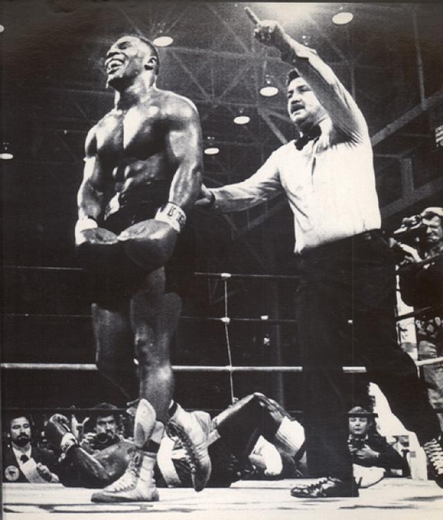 В течение первого года выступлений на профессиональном ринге Тайсон провел 15 боев и во всех одержал досрочные победы. Специалисты начали называть его идеальным супертяжеловесом и будущим чемпионом мира.