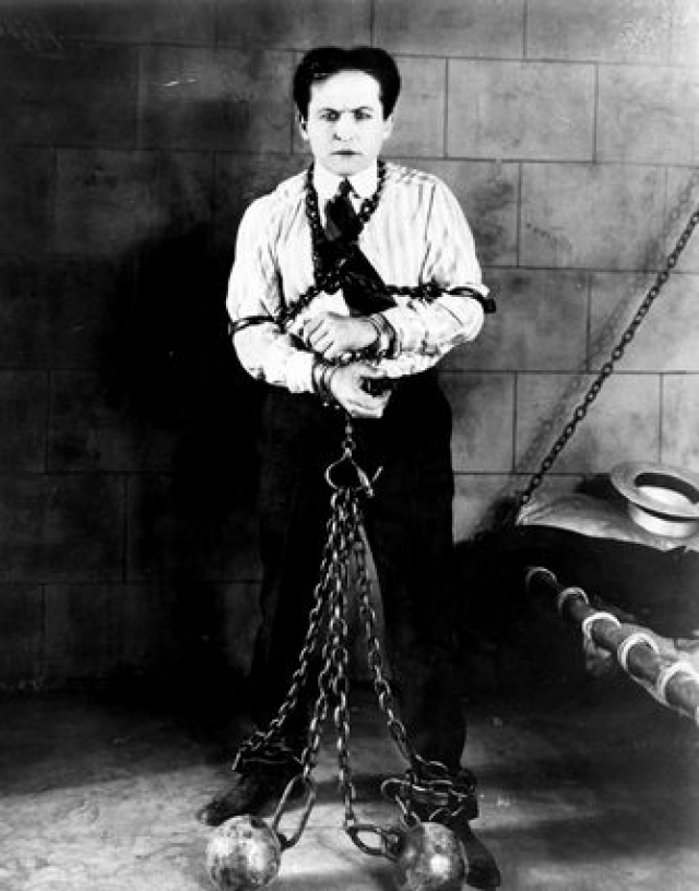 the dangerous acts of harry houdini Harry houdini is one of my heroes, i've admired the great mystifier from early age watching him on old flickering, hand-cranked black and white film clips, as he.