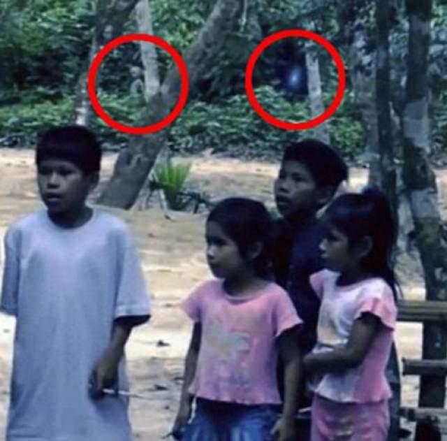 Инопланетянин из джунглей Амазонки В 2011 известный уфолог, а в недавнем прошлом сотрудник НАСА Майкл Коэн, опубликовал кадры, попавшие в его руки. По словам уфолога, изображение передавали ему два британских туриста, которые снимали в Бразилии в джунглях Амазонки в местечке Мамаус. В кадре отчетливо виден инопланетянин.