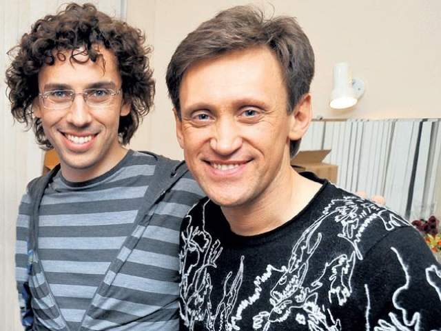 """Дроботенко подружился с Максимом Галкиным, который тоже появлялся иной раз в """"Аншлаге"""", и вместе с ним принимал участие в концертах Михаила Задорнова."""