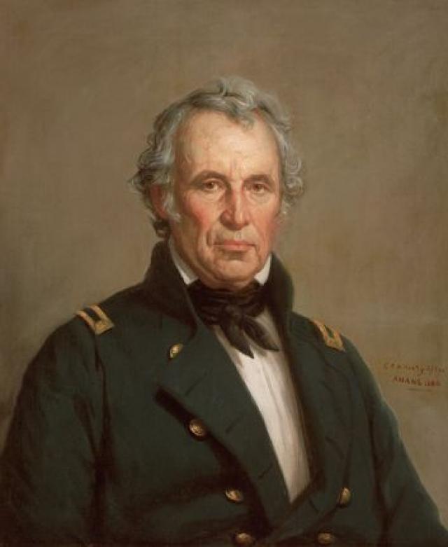 После официальной церемонии в особо жаркий день 4 июля 1850 года президент съел слишком много мороженого.