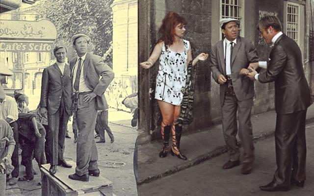 Согласно сценарию, простой советский человек Семен Семенович Павлик (потом он станет Тимошкиным и только к выходу фильма – Горбунковым), отправившись в заграничное турне, оказался в центре контрабандистской махинации.