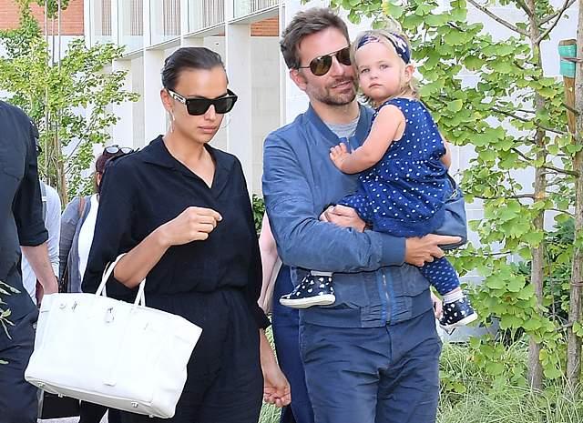 В марте 2017 года Ирина впервые стала мамой. и несмотря на то, что в мае в эфире одного из ток-шоу Купер проигнорировал вопрос о ребенке, пара не раз была замечена за совместными прогулками с новорожденной девочкой.