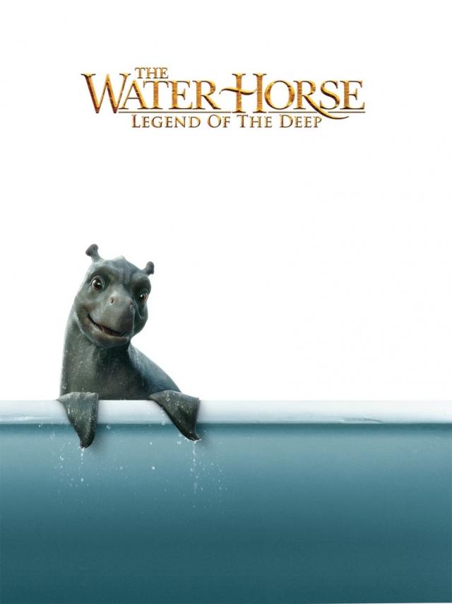 """""""Мой домашний динозавр"""". В оригинале название звучит не так красиво - """"The Water Horse"""" (дословный перевод """"Водяной Конь"""")."""