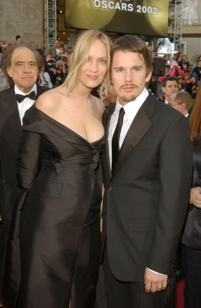 Итан Хоук. Довольно долгое время актера связывал брак с актрисой Умой Турман, которая часто говорила, что ее супруг – самый порядочный мужчина из всех, кого она встречала в жизни.