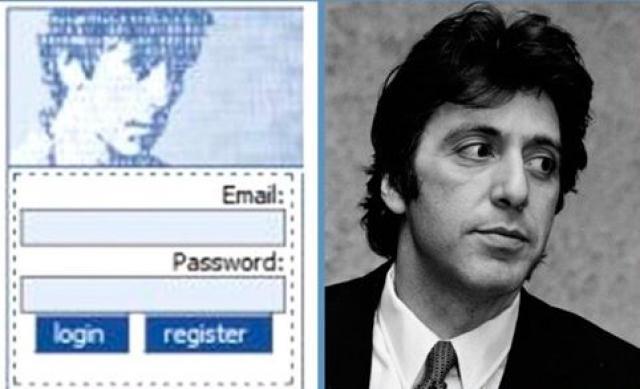 """Годы спустя, выяснилось, что этим таинственным персонажем был никто иной как молодой Аль Пачино, которого немного """"подправил"""" в графической редакторе знакомый Марка Цукерберга."""