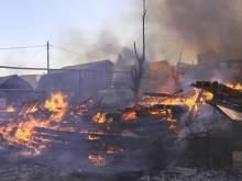 Мужчина заживо сжег жену и троих детей в Томской области