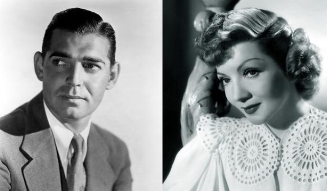 """1935 - Кларк Гейбл (""""Это случилось однажды ночью"""")/Клодетт Колбер (""""Это случилось однажды ночью"""")"""