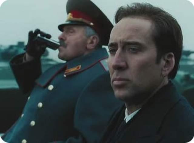 """Николас Кейдж (Оружейный барон, 2005) Согласно выставляемым фильмам оценкам на различных кинопорталах, """"Оружейный барон"""" можно считать если не самым лучшим, то по крайней мере одним из лучших фильмов Николаса Кейджа за последние 15 лет."""