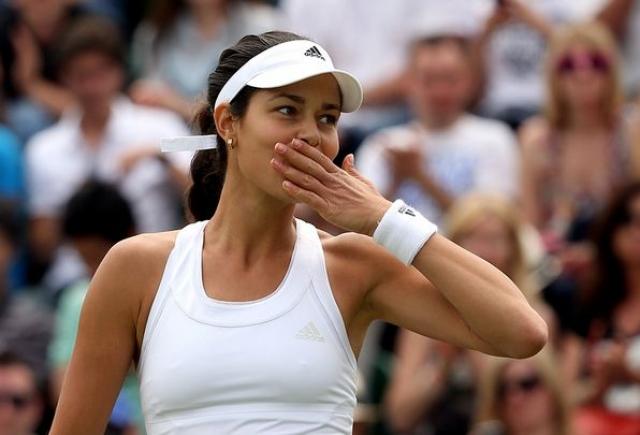 84. Ана Иванович - сербская теннисистка