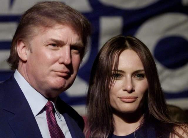 Брак с Меланьей Кнавс в 2005 году стал третьим для главы США. К тому моменту бизнесмену было уже 58 лет, а его невесте — 34 года.