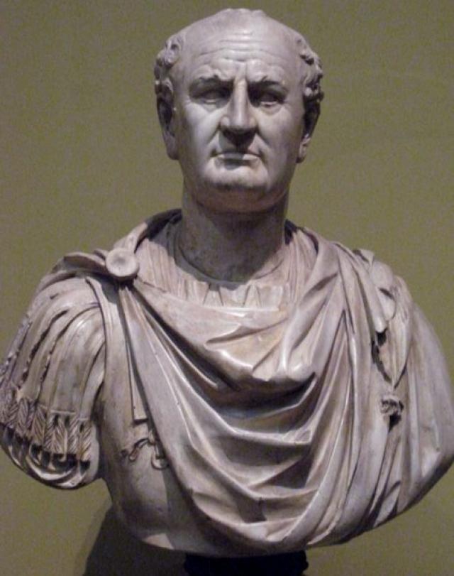 """Веспасиан : """"Деньги не пахнут"""" (по поводу платных общественных туалетах)."""