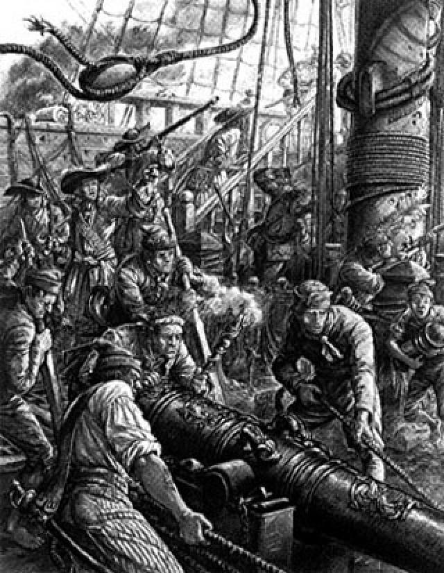 Француз спроектировал отлично укрепленную крепость, после чего начал выдавать флибустьерам очень сомнительные документы на право охотиться за испанцами, забирая основную часть добычи себе.Так он был их главарем, ничего при этом не делая.
