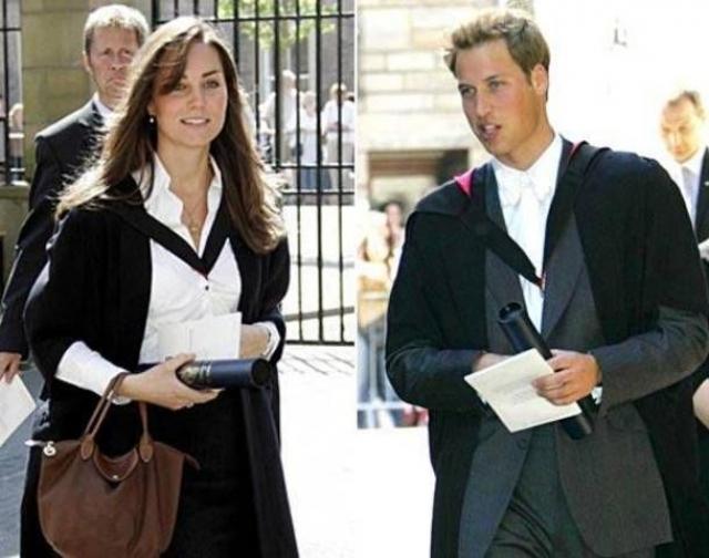 Их университетская жизнь подошла к концу в июне 2005 года , когда пара окончил а Сент-Эндрюс.