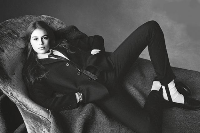 Кайя Гербер в 14 лет стала лицом бренда Chrome Heart, к этому моменту уже снявшись для массы модных изданий, среди которых даже Vogue.