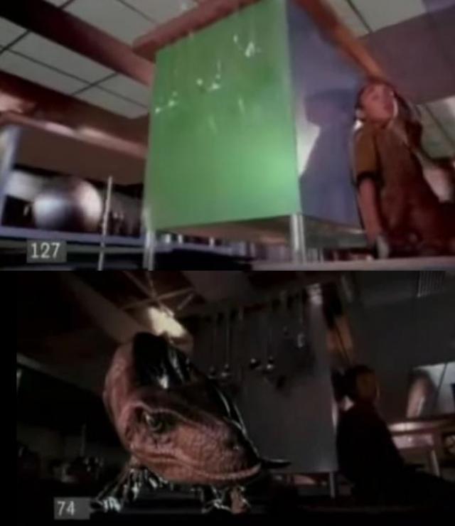 В успехе Лукаса можно убедиться, сравнив сцены до и после наложения спецэффектов.