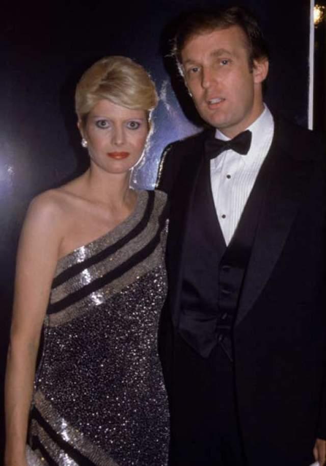 Дональд Трамп. В 1977 году бизнесмен и американский президент женился на 28-летней Иване Зельничковой. В браке появилось на свет двое детей, но, несмотря на это, в 1992 году они развелись.